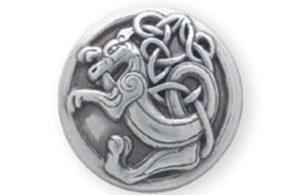 Forme ronde dragon celte