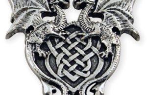 Médaillon dragon