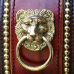 molosse collier en cuir avec décoration empire - Atelier Napoléon