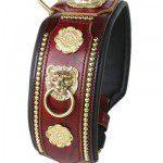 collier cuir prestige molosse - Atelier Napoléon