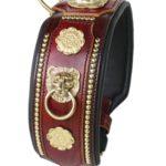 collier molosse avec lion - Atelier Napoléon