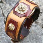 collier cuir pour molosse sur mesure - Atelier Napoleon