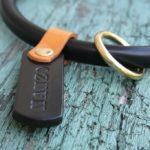 collier étrangleur réglable noir