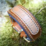 collier PLI en cuir avec nom Atelier Napoleon