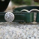collier cuir lévrier irlandais KELL_1