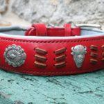 collier en cuir Lady Cane Corso - Atelier Napoléon