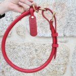 collier cuir rond étrangleur réglable très grand chien_6