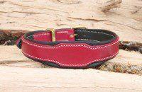 Collier chien rose