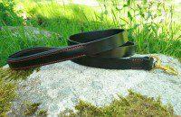 Laisse Sport noir & rouge
