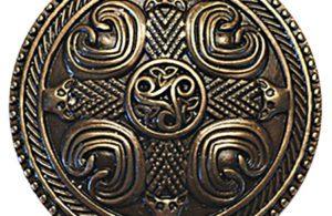 bouclier celte bronze