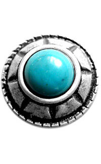 Rond turquoise
