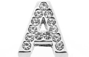 Lettre strass - A - (10/12mm )