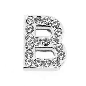 lettre strass - B - (10/12mm )