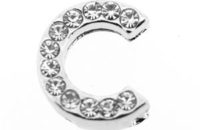 lettre strass - C - (10/12mm)