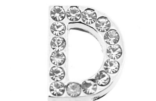 lettre strass - D - (10/12mm )