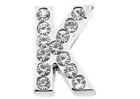 Lettre strass - K - (10/12mm)
