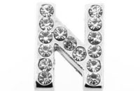 Lettre strass - N - (10/12mm )