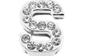 Lettre strass - S - (10/12mm )