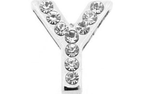 Lettre strass - Y - (10/12mm )