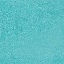 Suédine bleu turquoise