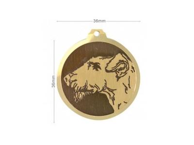 Médaille Airedale Terrier
