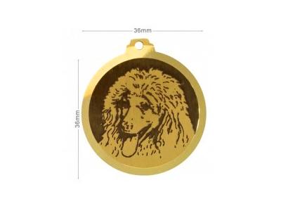 Médaille Caniche royal