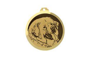 Médaille Dogue du Tibet