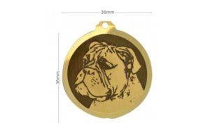 Médaille Boxer