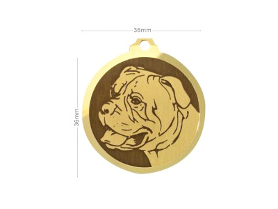 Médaille Bullmastiff