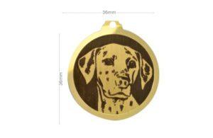 Médaille Dalmatien