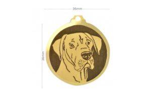 Médaille Dogue Allemand