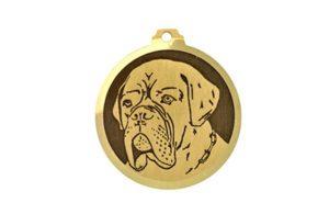 Médaille Dogue De Bordeaux