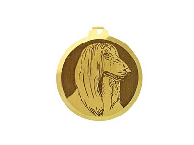 Médaille Lévrier Afghan