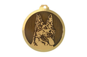 Médaille Berger Allemand