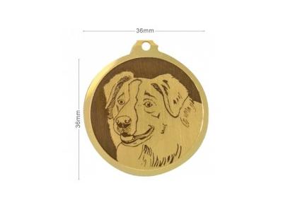 Médaille Berger Australien