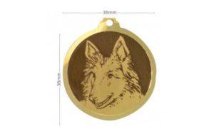 Médaille Berger Belge Groenendael