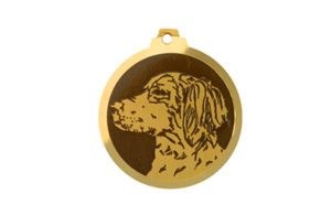 Médaille Epagneul Breton