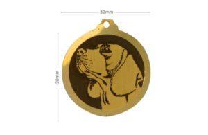 Médaille Beagle