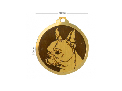 Médaille Boston Terrier
