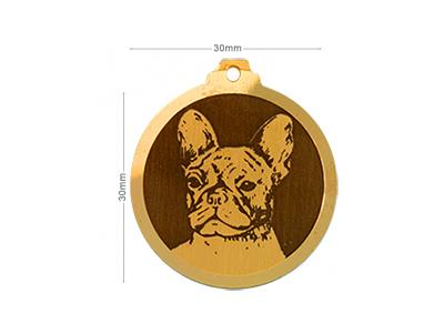 Médaille Bouledogue français
