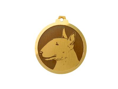 Médaille Bull Terrier