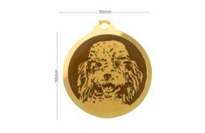 Médaille Caniche Moyen