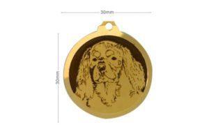 Médaille Cavalier King Charles