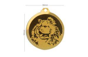 Médaille Chow Chow