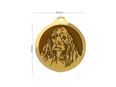 Médaille Cocker Américain
