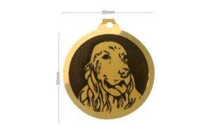 Médaille Cocker anglais