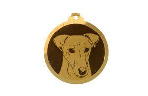 Médaille Fox Terrier poil lisse