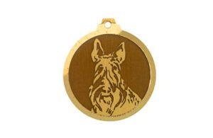 Médaille Scottish Terrier