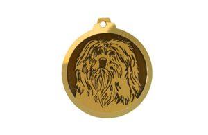 Médaille Terrier du Tibet