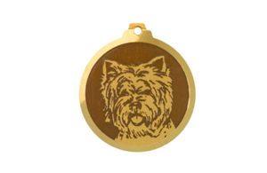 Médaille Westie